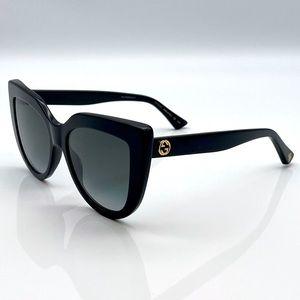 BRAND NWT GUCCI GG0164S Black Sunglasses